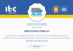 IBC High Performance Mentality Certification