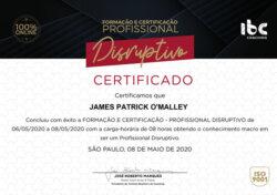 IBC Disruptive Professional Certification