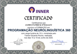 Inner 360 Neuro-Linguistic Programming Certificate